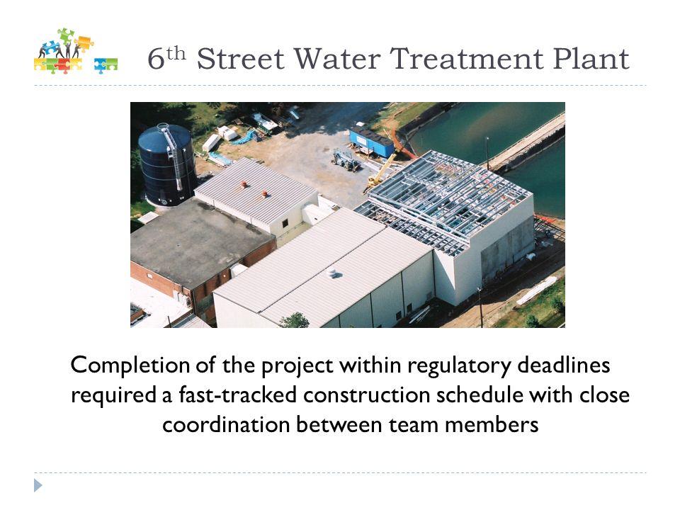 6th Street Water Treatment Plant