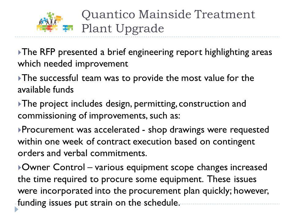 Quantico Mainside Treatment Plant Upgrade