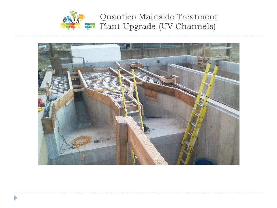 Quantico Mainside Treatment Plant Upgrade (UV Channels)