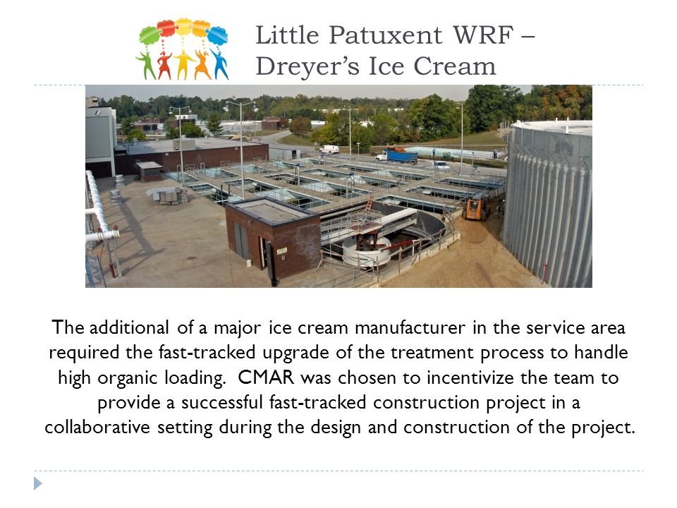 Little Patuxent WRF – Dreyer's Ice Cream