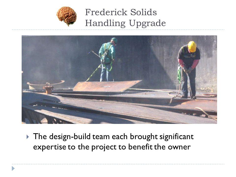 Frederick Solids Handling Upgrade