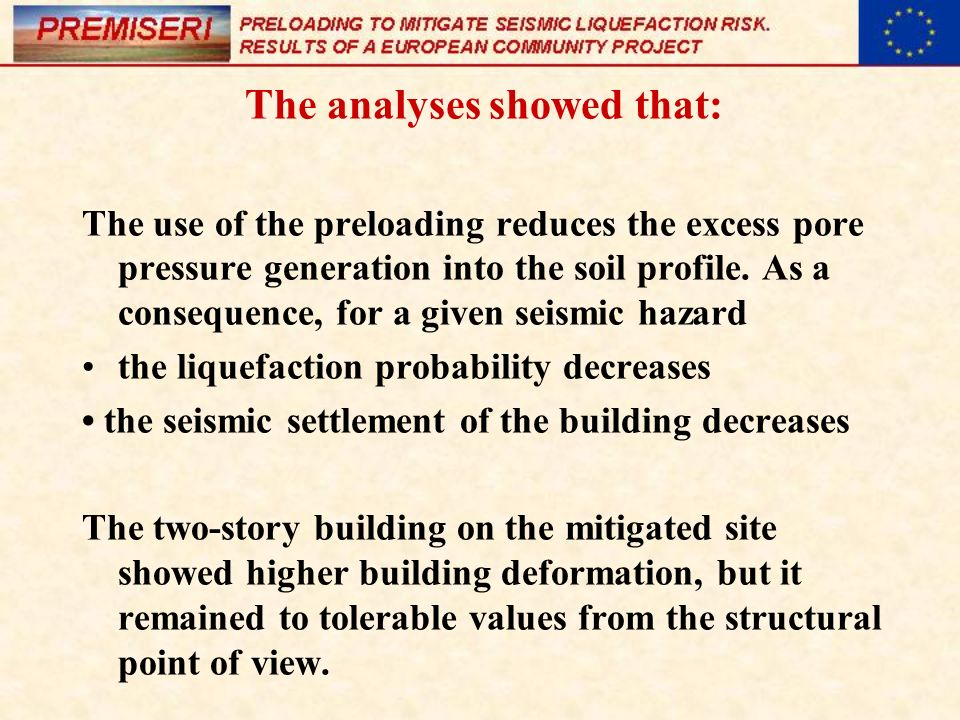 The analyses showed that: