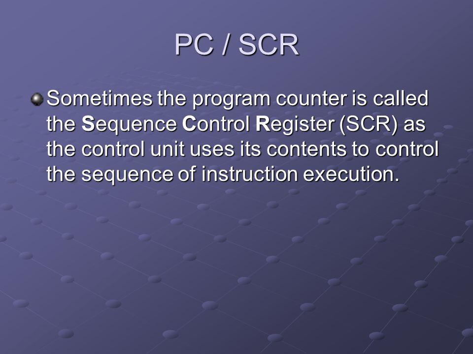 PC / SCR