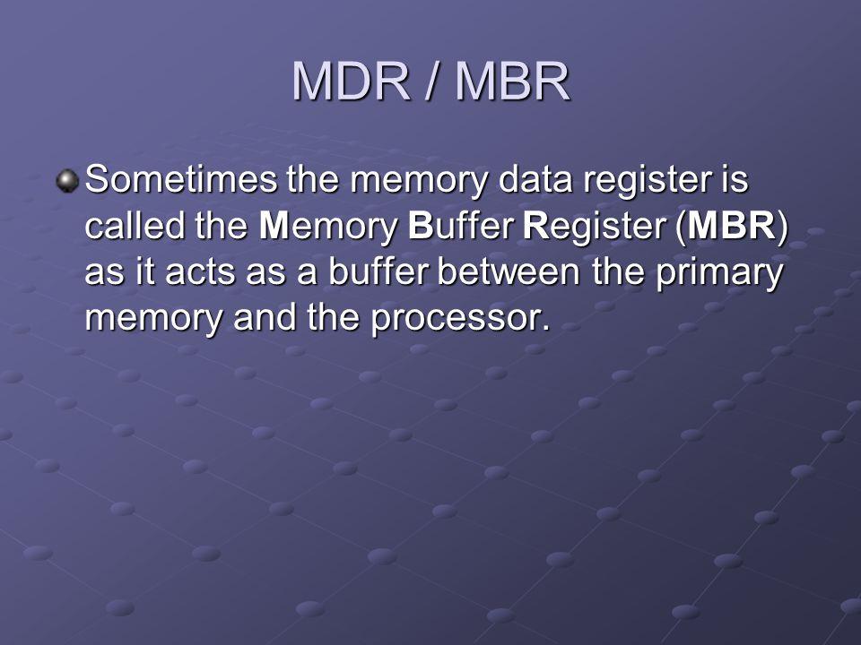 MDR / MBR