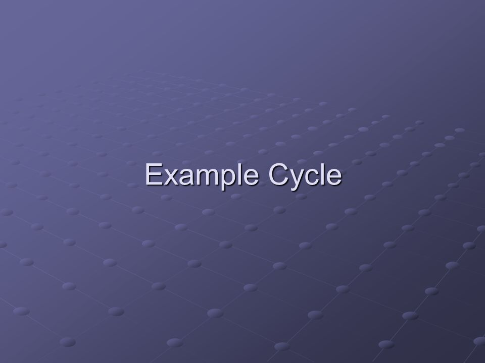 Example Cycle