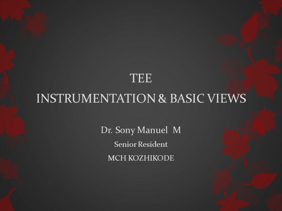 INSTRUMENTATION & BASIC VIEWS