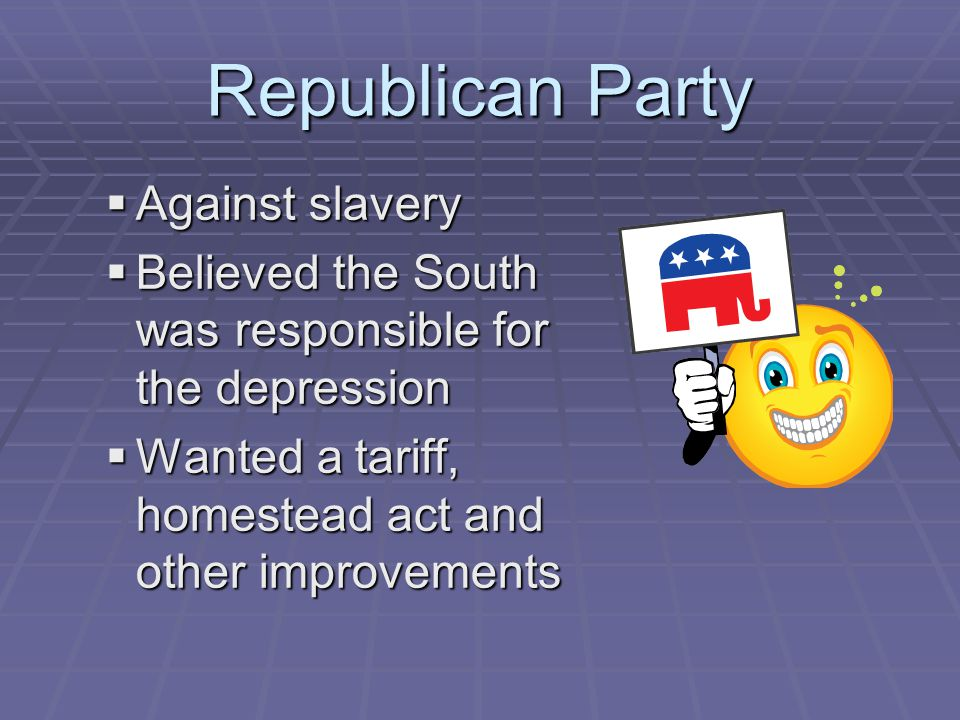 Republican Party Against slavery