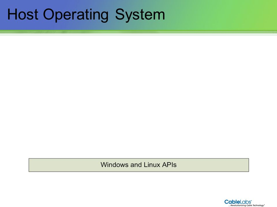 Host Operating System 32