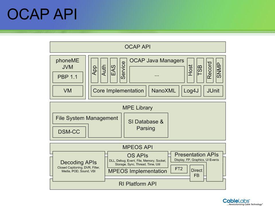 OCAP API 41