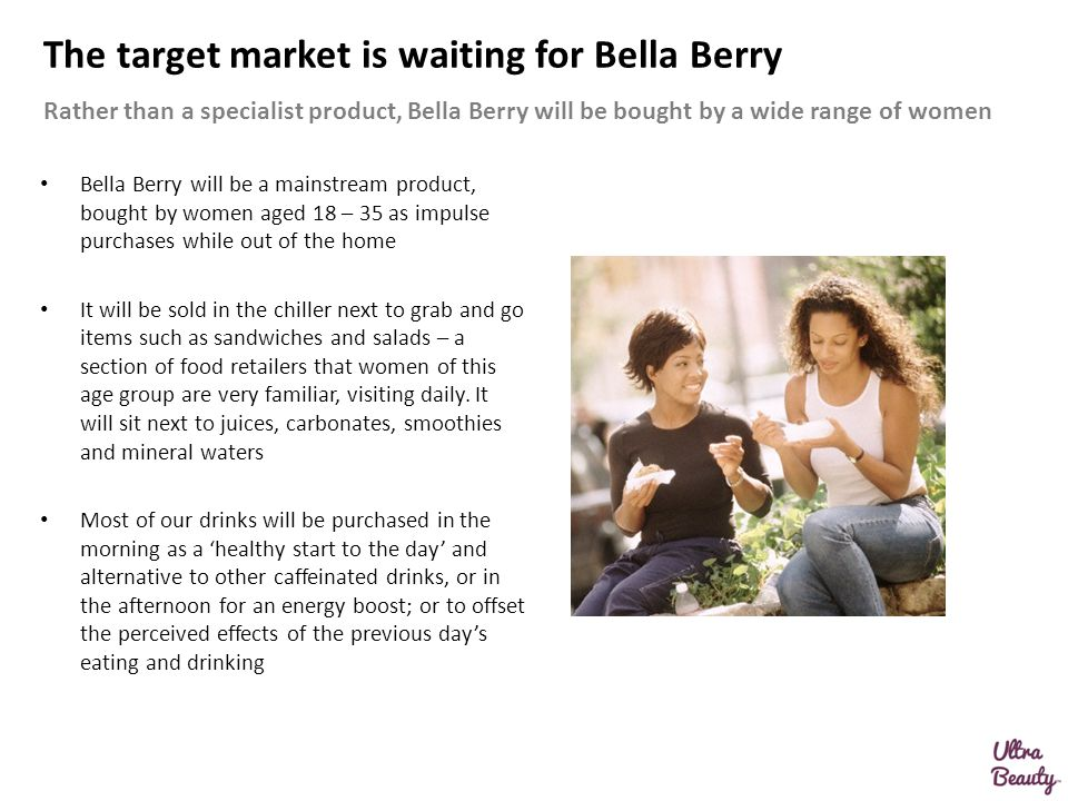 The target market is waiting for Bella Berry