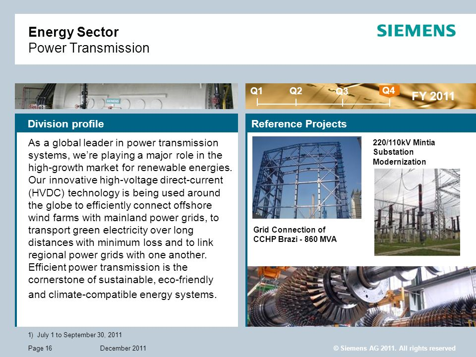 Energy Sector Power Transmission