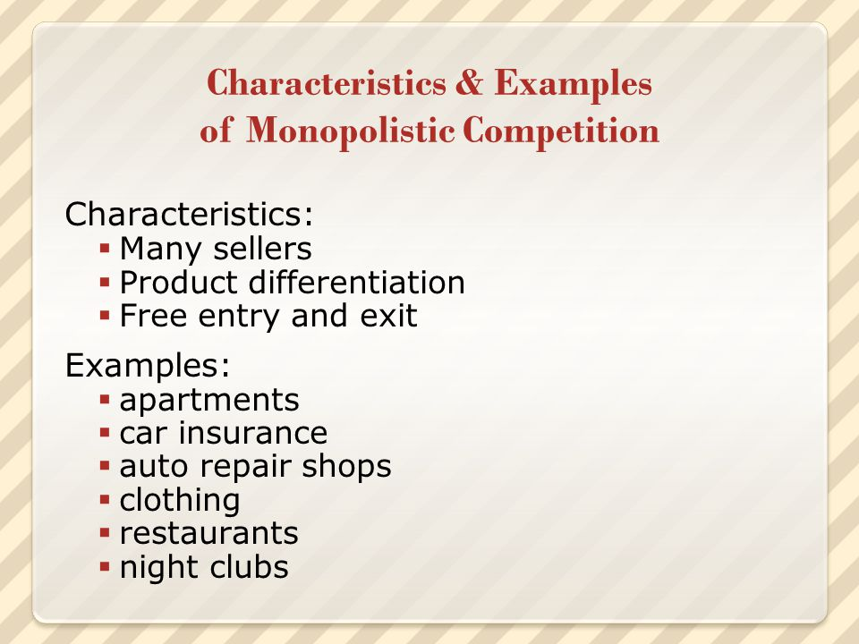 The exhibition of monopolistic behaviors in humans
