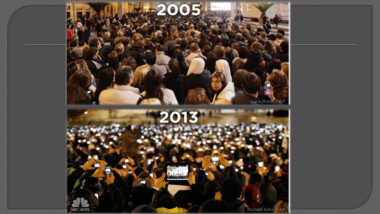 Images speak 1,000 words… The first image is at the Vatican in Rome in 2005 during the unveiling of the then pope.