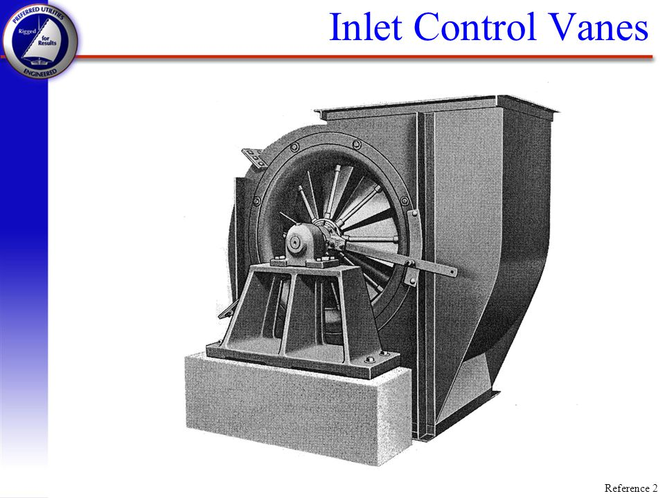 Inlet Control Vanes Reference 2