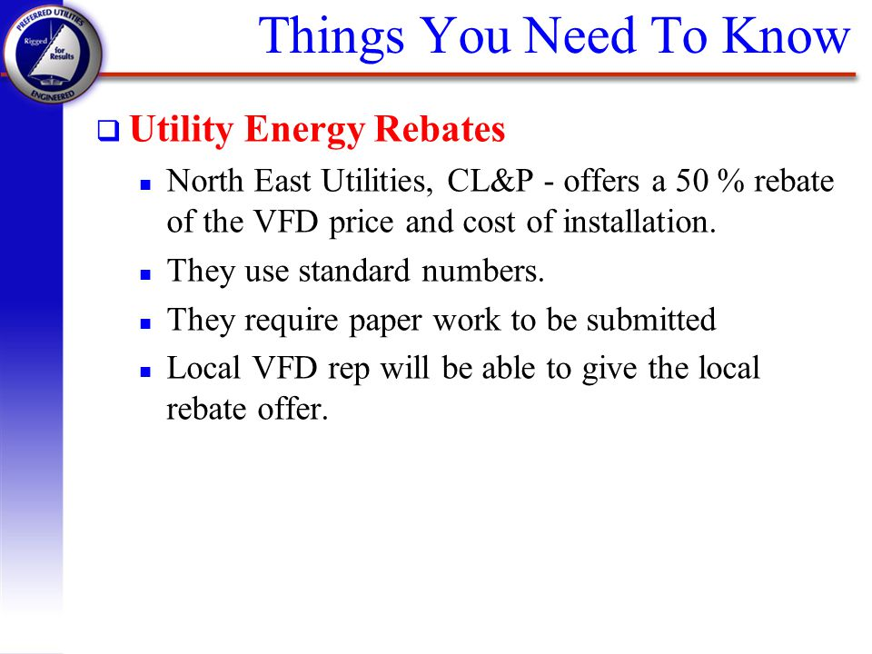 Things You Need To Know Utility Energy Rebates