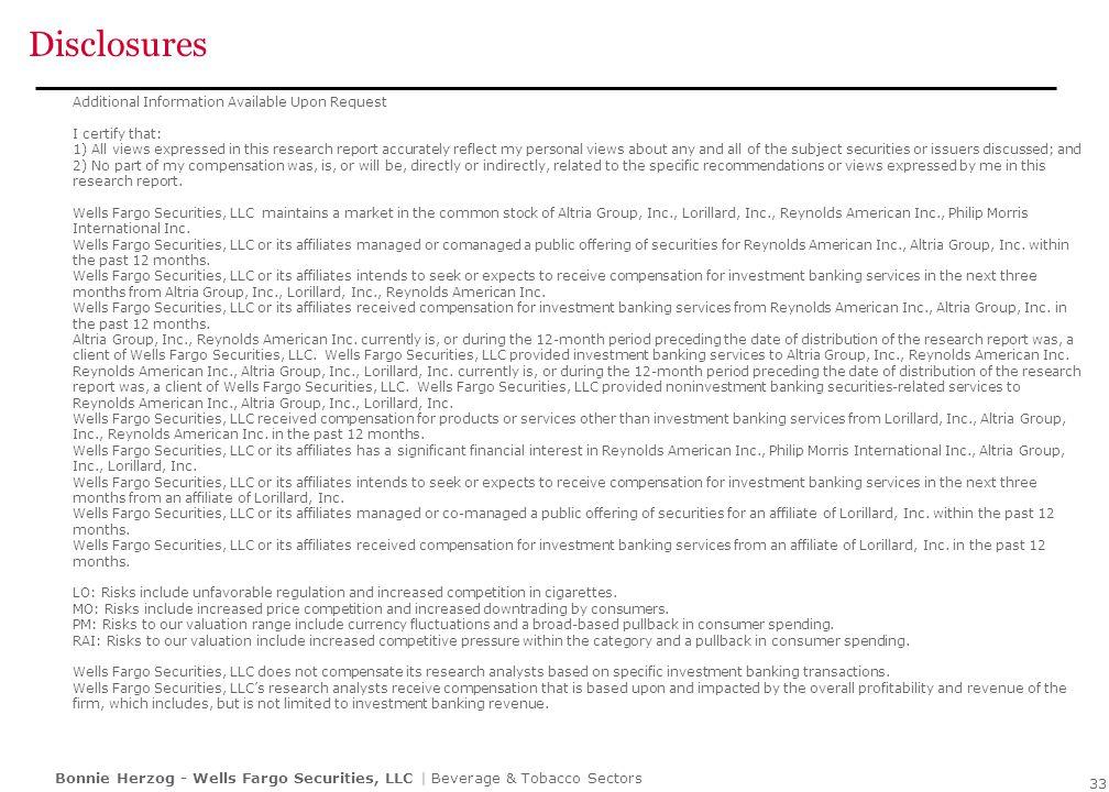 Disclosures 34 34 34 STOCK RATING