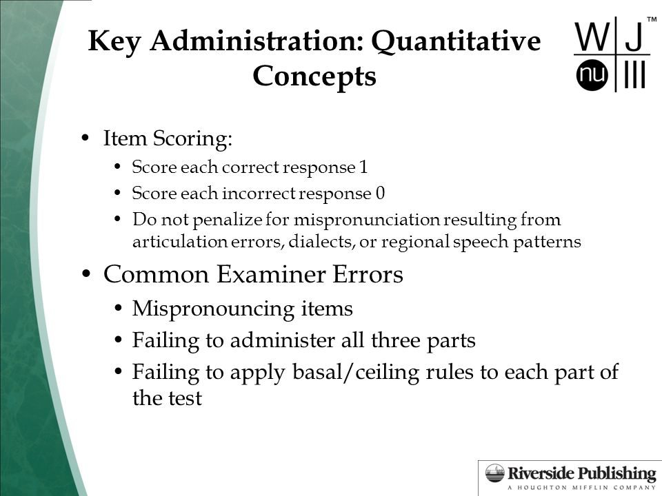 Key Administration: Quantitative Concepts