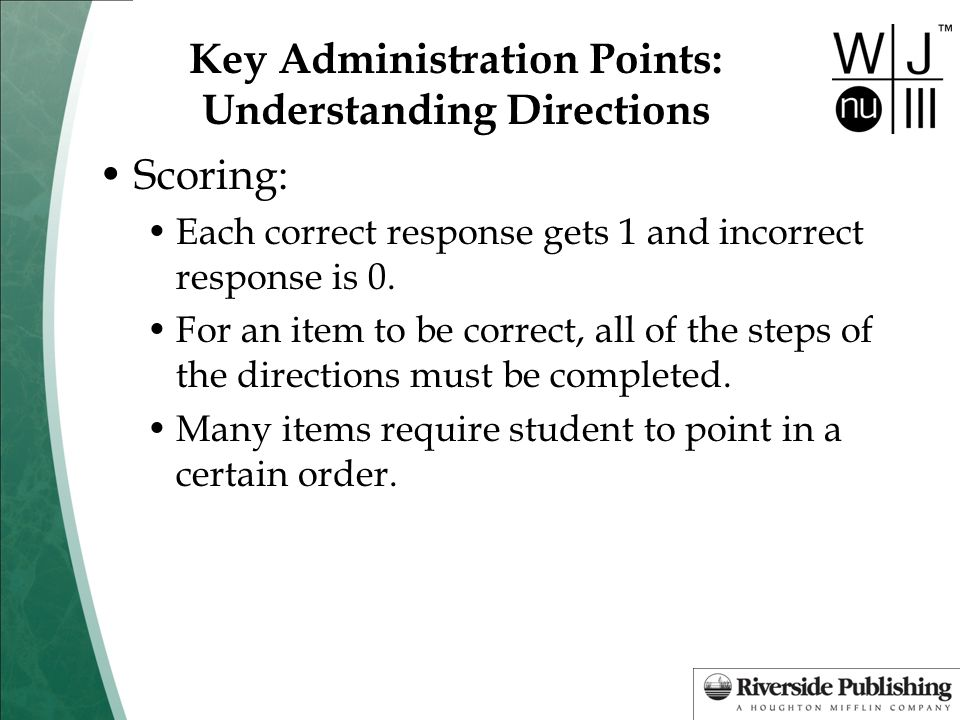 Key Administration Points: Understanding Directions