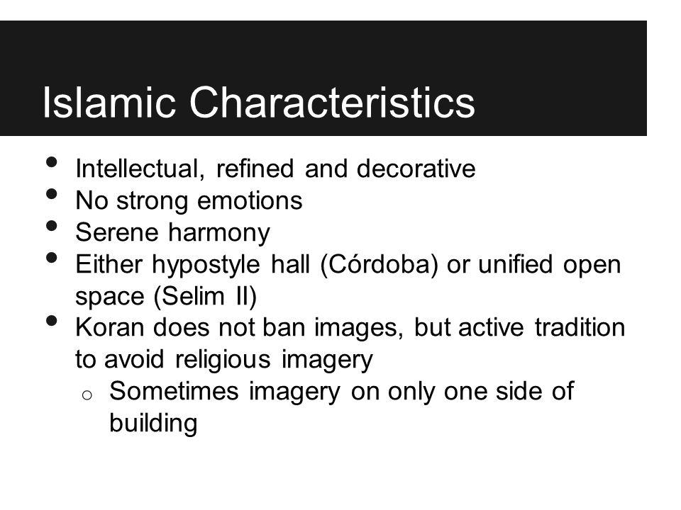 Islamic Characteristics