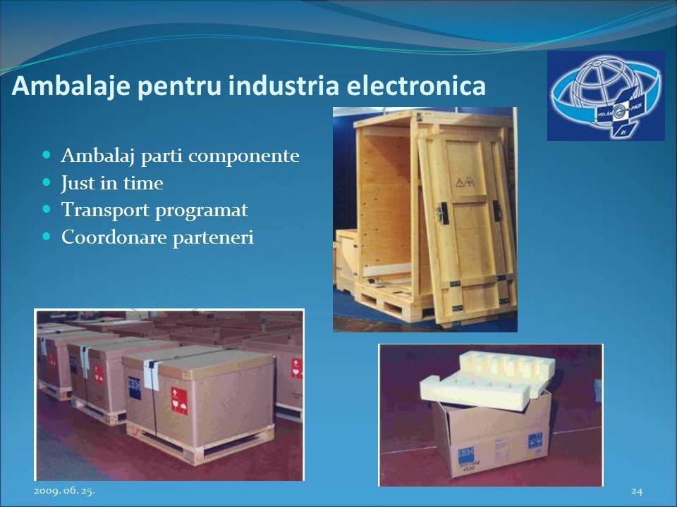 Ambalaje pentru industria electronica