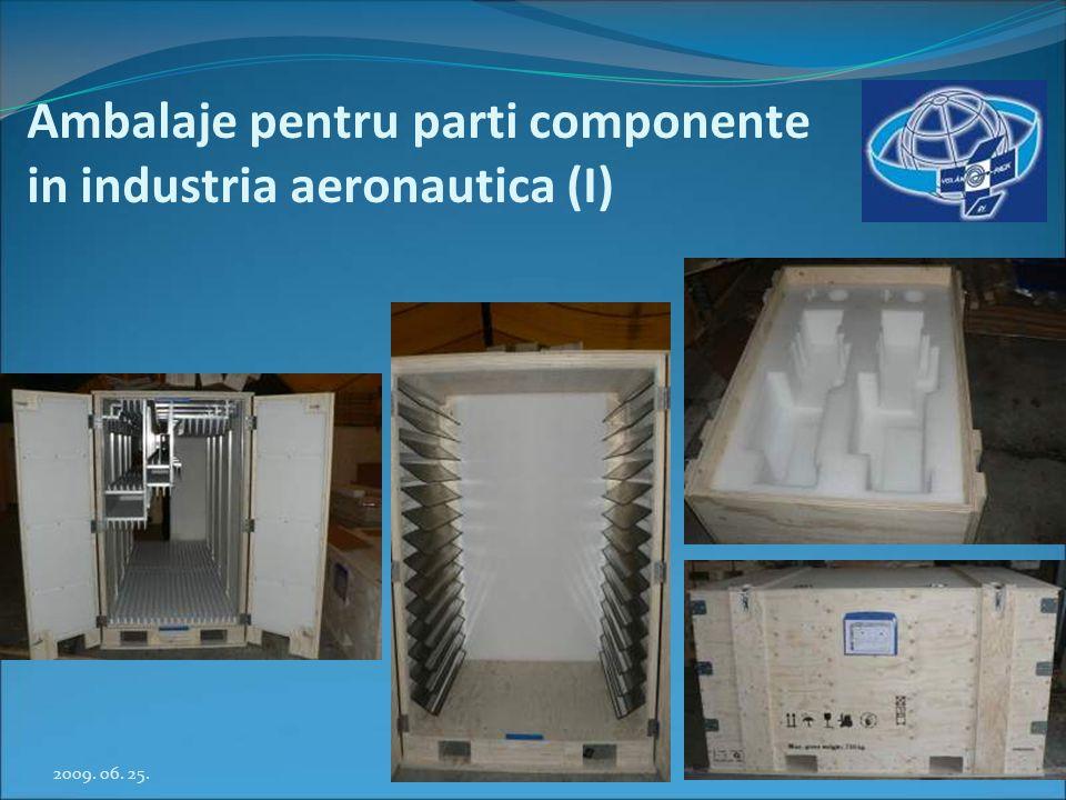 Ambalaje pentru parti componente in industria aeronautica (I)