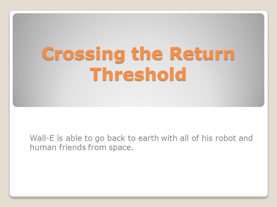 Crossing the Return Threshold