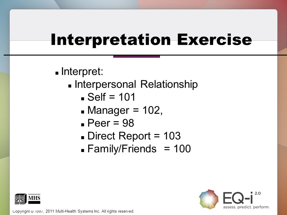 Interpretation Exercise