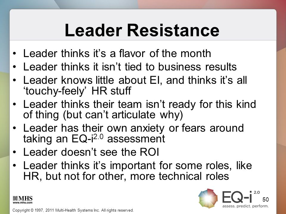 Leader Resistance Leader thinks it's a flavor of the month