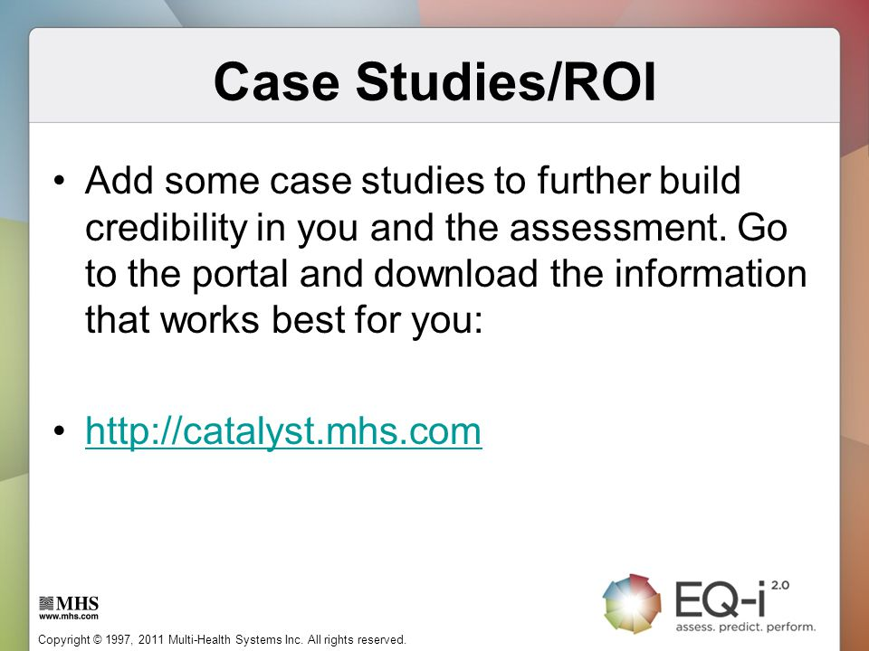 Case Studies/ROI