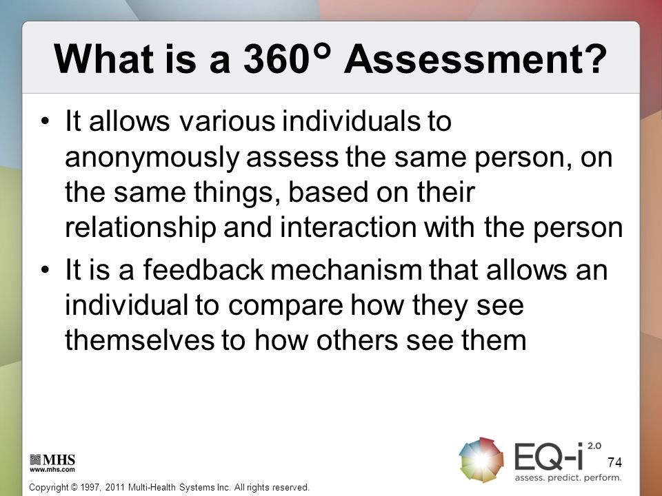 What is a 360° Assessment