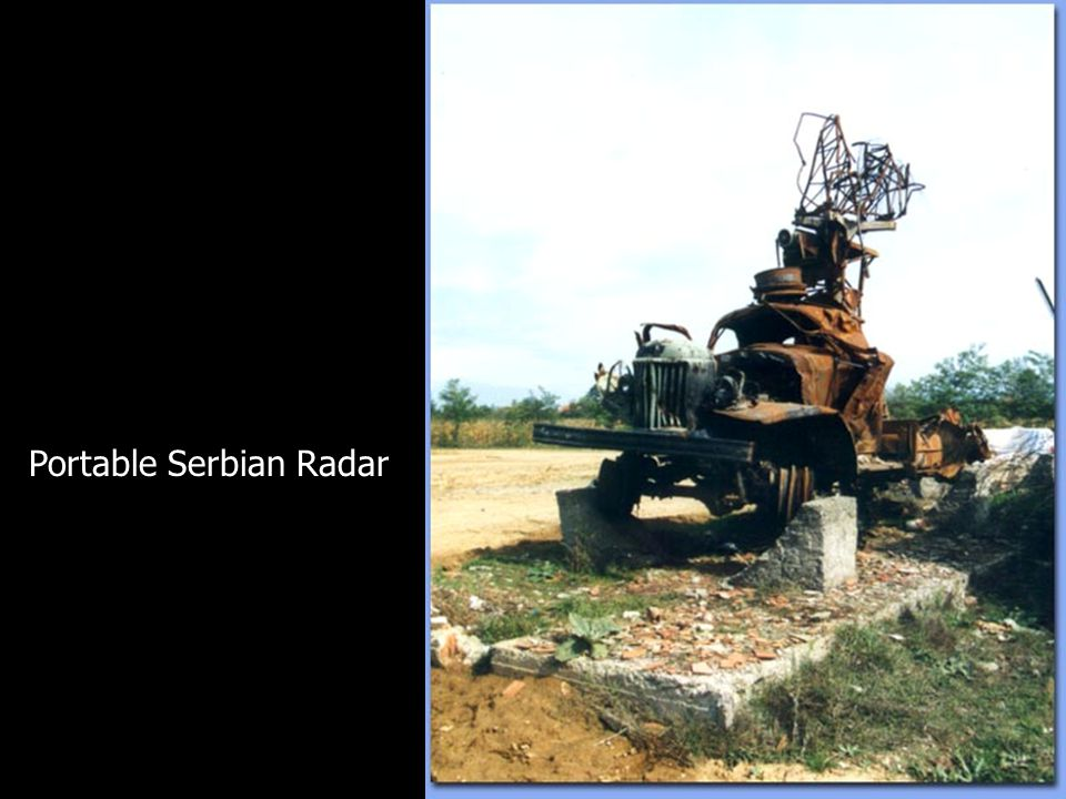 HARM Results Portable Serbian Radar