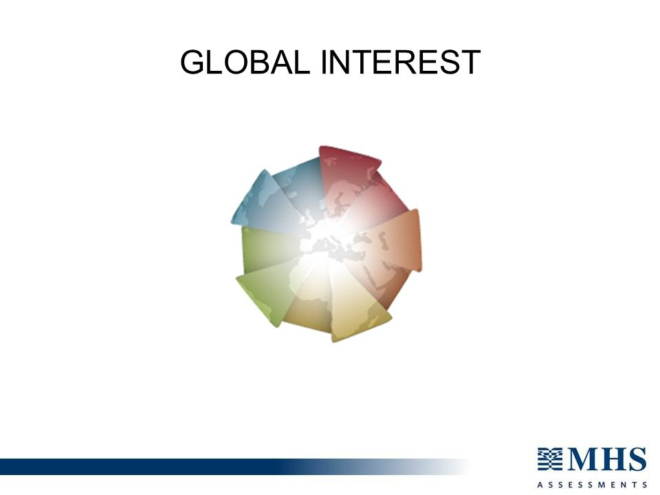 Global Interest Furthers our strategic aim of being Globally Driven, Globally Accessible