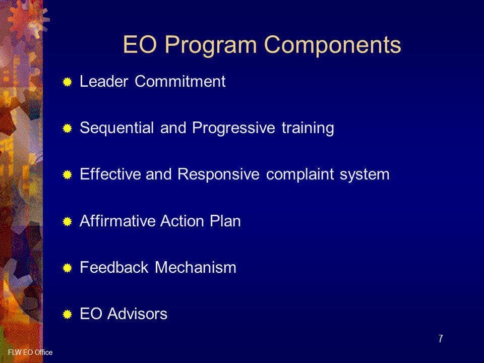 EO Program Components Leader Commitment