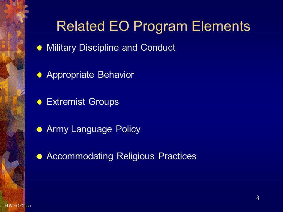 Related EO Program Elements