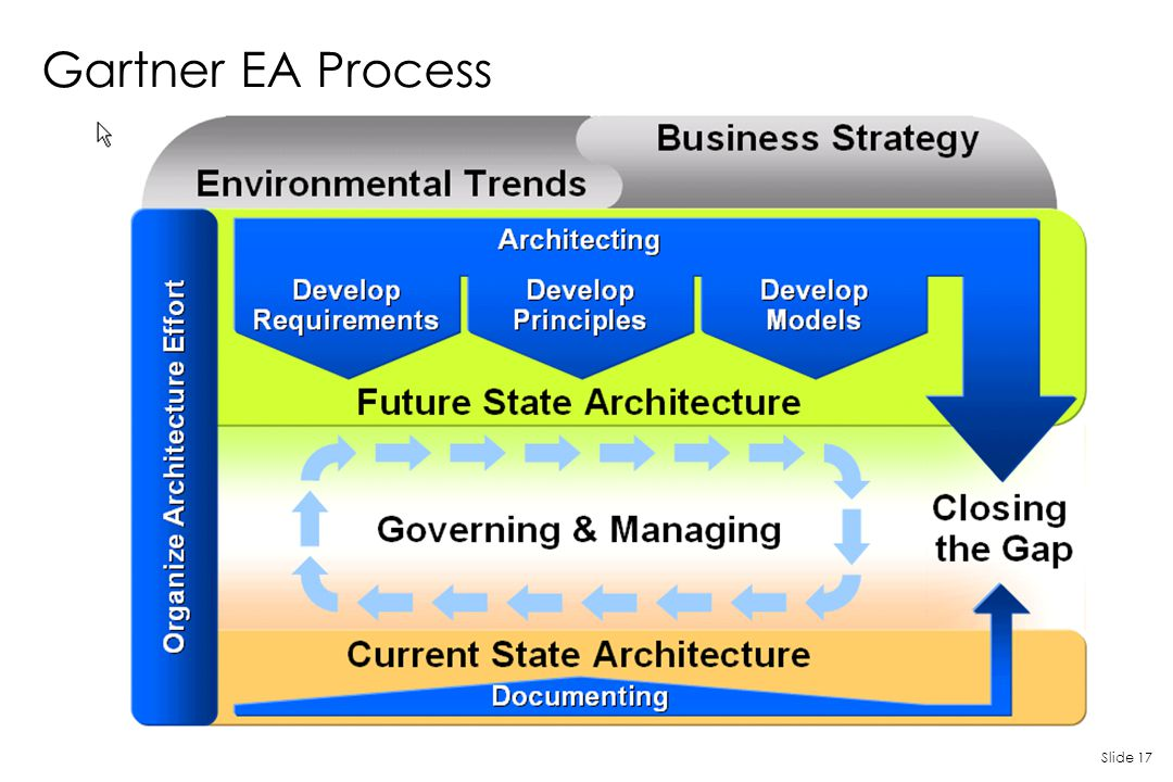Gartner EA Process