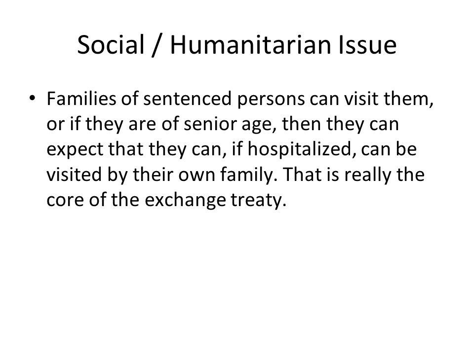 Social / Humanitarian Issue
