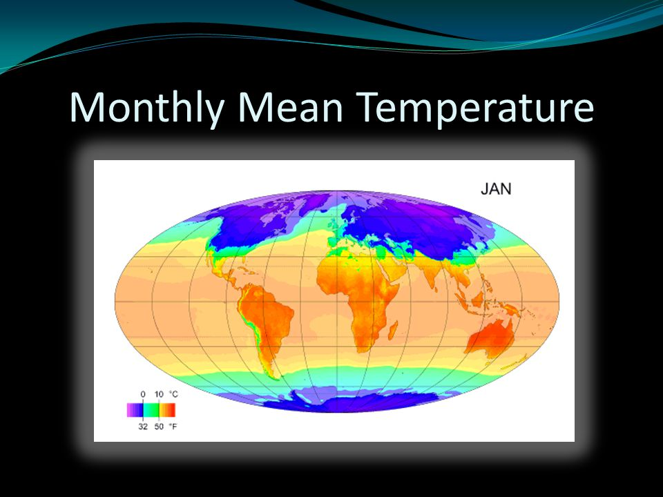 Monthly Mean Temperature