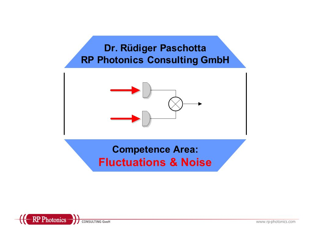 Dr. Rüdiger Paschotta RP Photonics Consulting GmbH