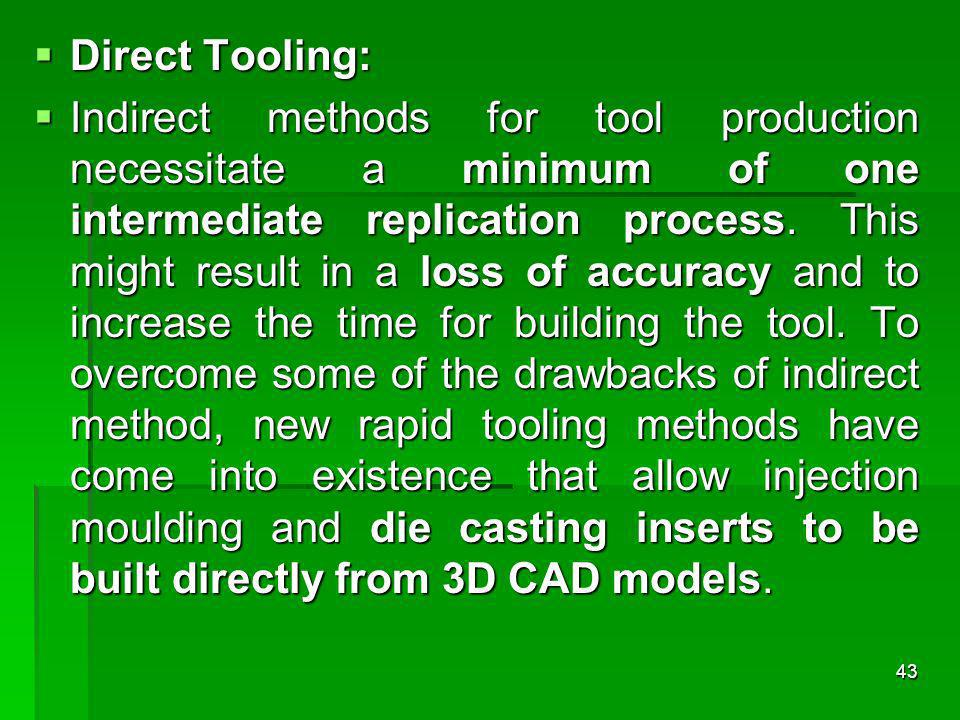 Direct Tooling: