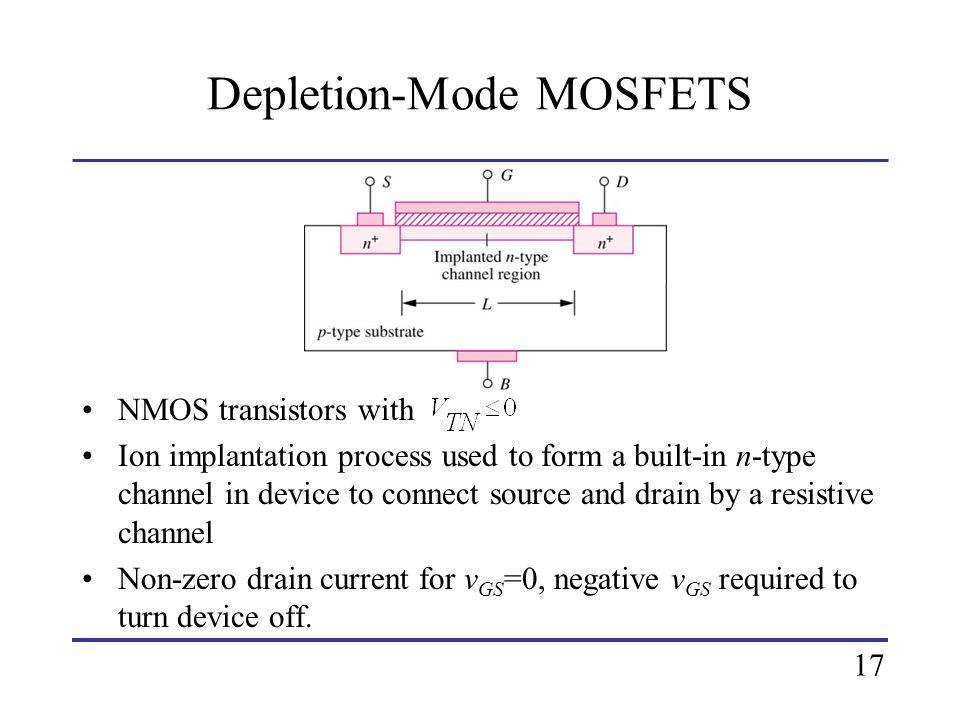 Depletion-Mode MOSFETS