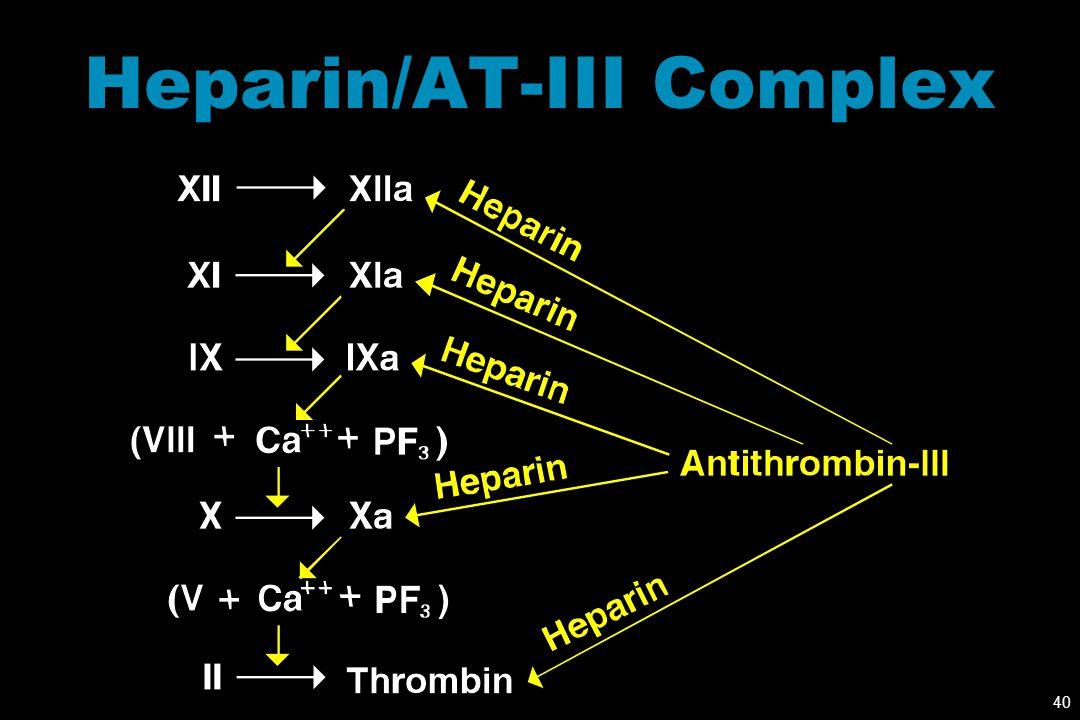 Heparin/AT-III Complex