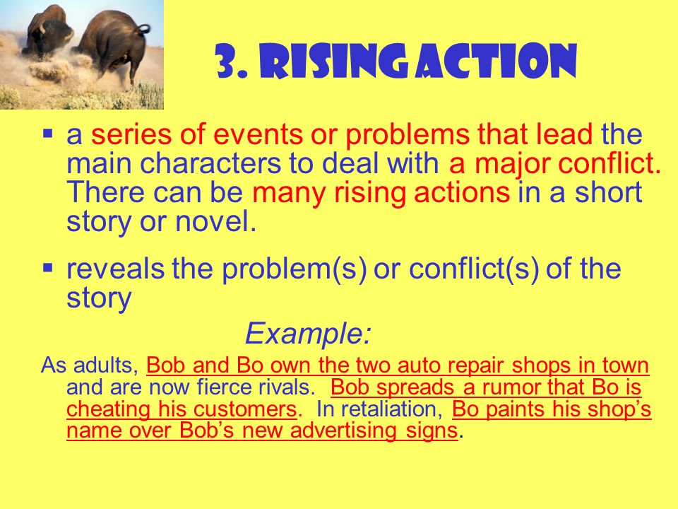 3. Rising Action