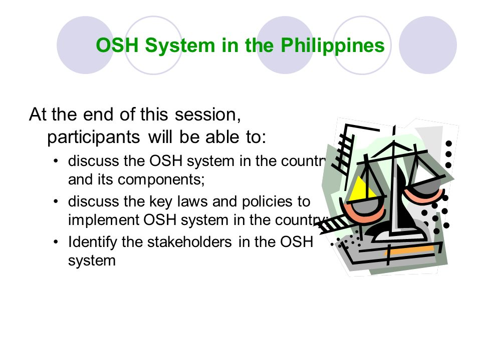 OSH System in the Philippines
