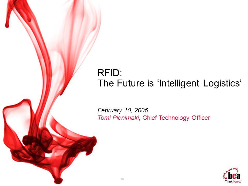 RFID: The Future is 'Intelligent Logistics'