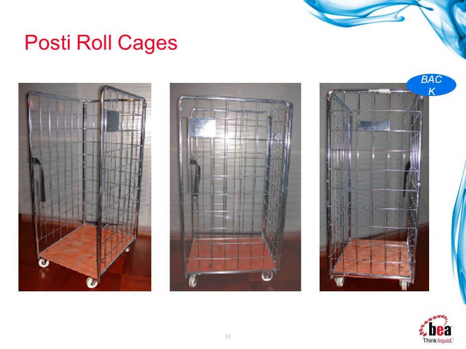 Posti Roll Cages BACK