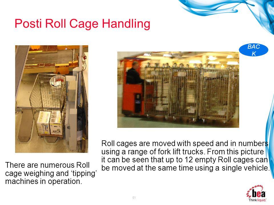 Posti Roll Cage Handling