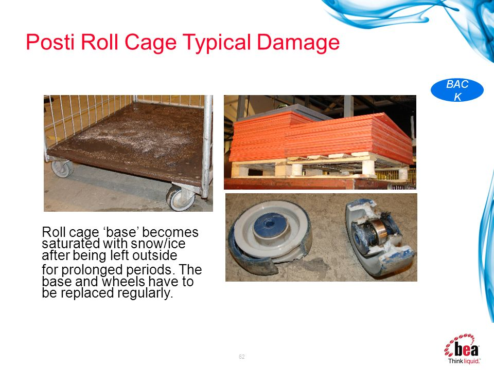 Posti Roll Cage Typical Damage