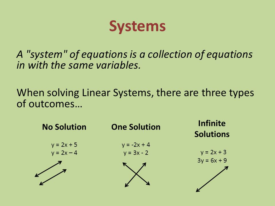Inequalities and Systems - ppt video online download