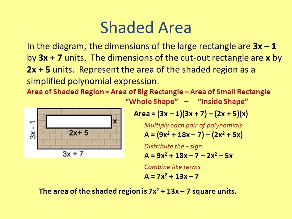 Shaded Area