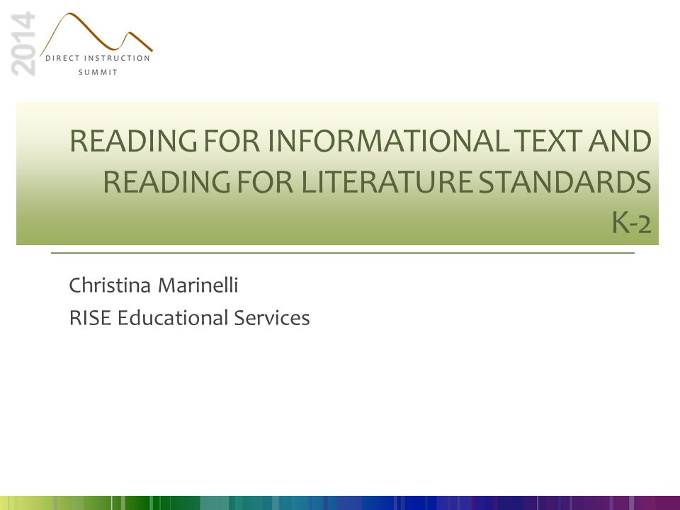 Christina Marinelli RISE Educational Services